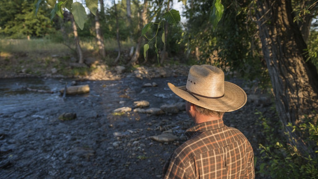 Tony Malmberg, rancher in Union, Oregon