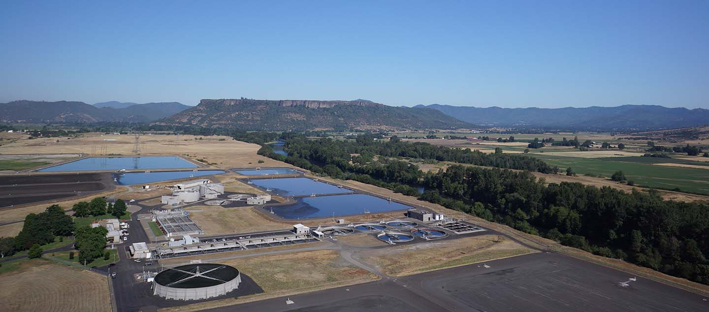 Medford water treatment facility